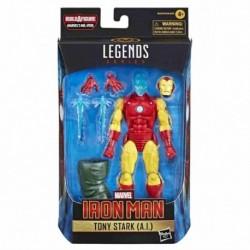 Figura Marvel Iron Man Tony Stark I.A. Serie Legends