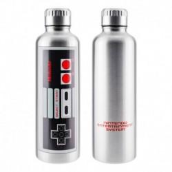 Botella Metalica Nintendo Nes
