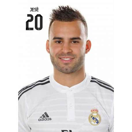 Postal Real Madrid Jesé 2014-15