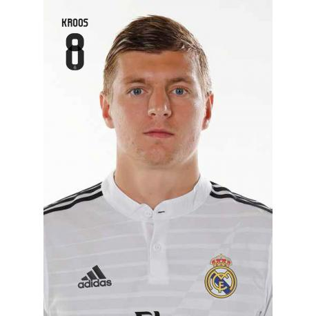 Postal Real Madrid Kroos 2014-15