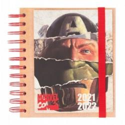 Agenda Escolar 2021/2022 Dia Pagina Marvel Classic