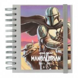 Agenda Escolar 2021/2022 Dia Pagina Star Wars The Mandalorian