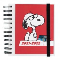Agenda Escolar 2021/2022 Dia Pagina Snoopy