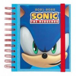 Agenda Escolar 2021/2022 Dia Pagina Sonic