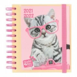 Agenda Escolar 2021/2022 Dia Pagina Studio Pets Cats
