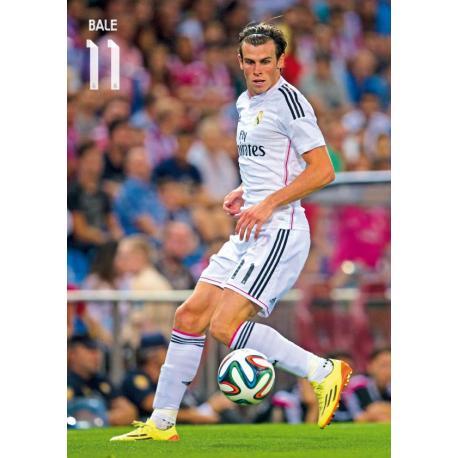 Postal Real Madrid A4 Bale 2014-15