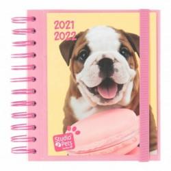 Agenda Escolar 2021/2022 Dia Pagina Studio Pets Dogs