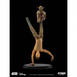 Figura Star Wars Luke & Yoda Entrenamiento En Dagobah