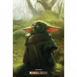 Poster Star Wars The Mandalorian The Child Art