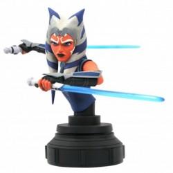 Figura Busto Star Wars Clone Wars Ahsoka