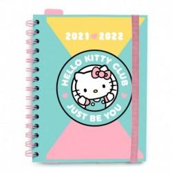 Agenda Escolar 2021/2022 Semana Vista Hello Kitty