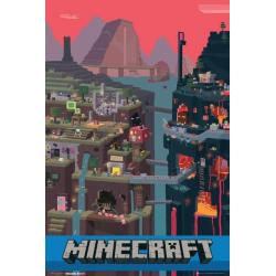 Poster Gamer Mundo Minecraft