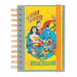 Agenda Escolar 2021/2022 Dia Pagina Dc Comics