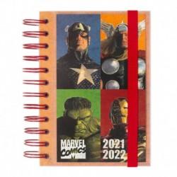 Agenda Escolar 2021/2022 Dia Pagina Marvel Comics