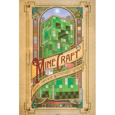 Poster Minecraft Computronic comings