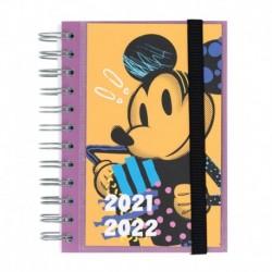 Agenda Escolar 2021/2022 Dia Pagina Frances Disney Mickey