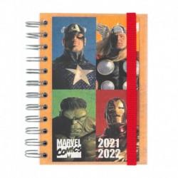 Agenda Escolar 2021/2022 Dia Pagina Frances Marvel