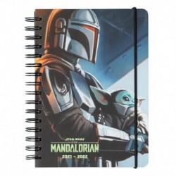 Agenda A5 Semana Vista Kalenda Star Wars The Mandalorian