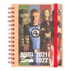 Agenda Escolar 2021/2022 Semana Vista Marvel