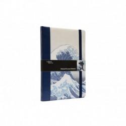 Cuaderno Premium A5 La Gran Ola De Kanagawa