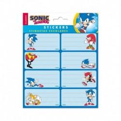 Etiquetas Adhesivas Sonic The Hedgehog