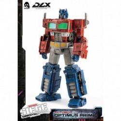 Figura Dlx Transformers: Triologia De La Guerra Por Cybertron Optimus Prime