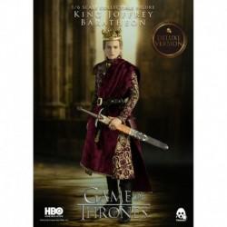 Figura Juego De Tronos Rey Joffrey Baratheon Deluxe