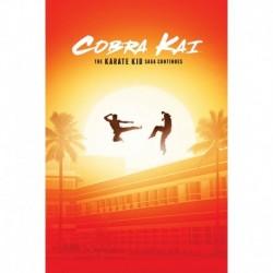 Poster Cobra Kai The Karate Kid Saga Continues