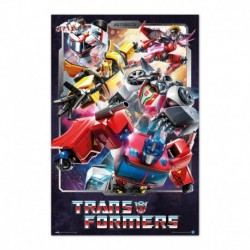 Poster Transformers Personajes
