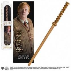 Replica Varita Harry Potter Arthur Weasley Con Marcapaginas