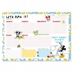 Bloc Planificador Semanal A3 Mickey Mouse