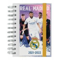 Agenda Escolar 2021/2022 Dia Pagina Real Madrid