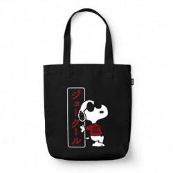 Bolso De Tela Snoopy Joe Cool