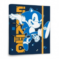 Carpeta 2 Anillas Sonic The Hedgehog