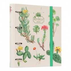 Carpeta 4 Anillas Botanical