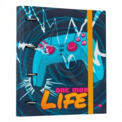 Carpeta 4 Anillas Gamer One More Life