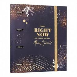 Carpeta 4 Anillas Premium Glitter