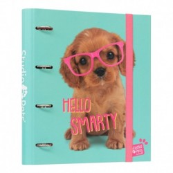 Carpeta 4 Anillas Studio Pets Dog Lovely Puppies