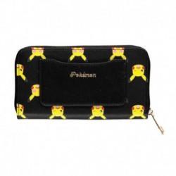 Cartera Con Cremallera Pokemon Pikachu Aop
