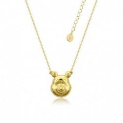 Colgante Disney Winnie The Pooh Baño De Oro