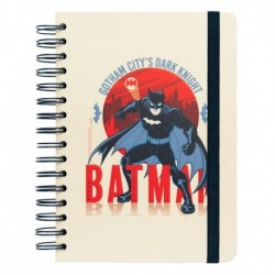 Cuaderno Tapa Forrada A5 Bullet Dc Comics Batman