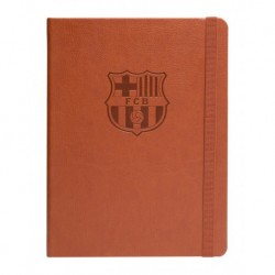 Cuaderno Tapa Forrada Premium Pu Fc.Barcelona