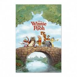 Poster Disney Winnie The Pooh Aniversario