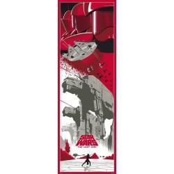 Poster Puerta Star Wars Episodio VIII