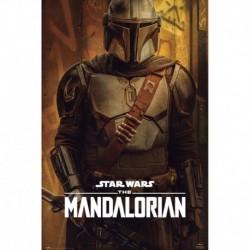 Poster Star Wars The Mandalorian Season 2