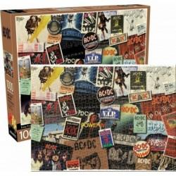 Puzzle De 1000 Piezas Ac/Dc Album Collage
