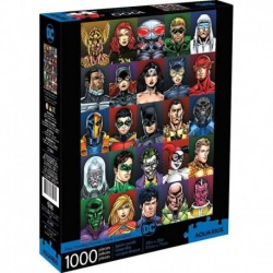 Puzzle De 1000 Piezas Dc Comics Caras