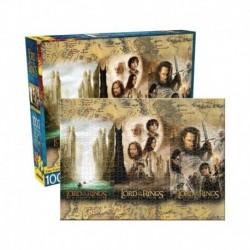 Puzzle De 1000 Piezas El Señor De Los Anillos Triptico