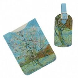 Set De Viaje Van Gogh Etiqueta Y Funda Pasaporte