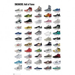 Poster Sneakers Hall Of Fame